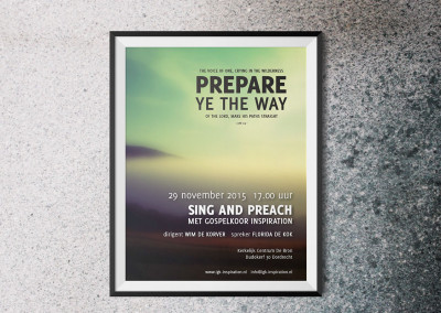Poster Sing and Preach