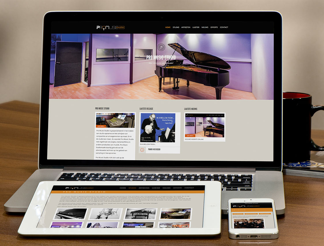 Website Pro Music Studio