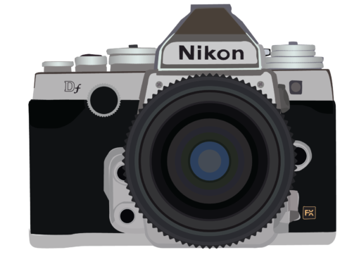 Illustratie Nikon DF