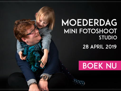 Moederdag Mini Fotoshoot Studio