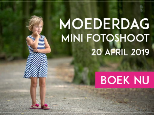 Moederdag Mini Fotoshoot